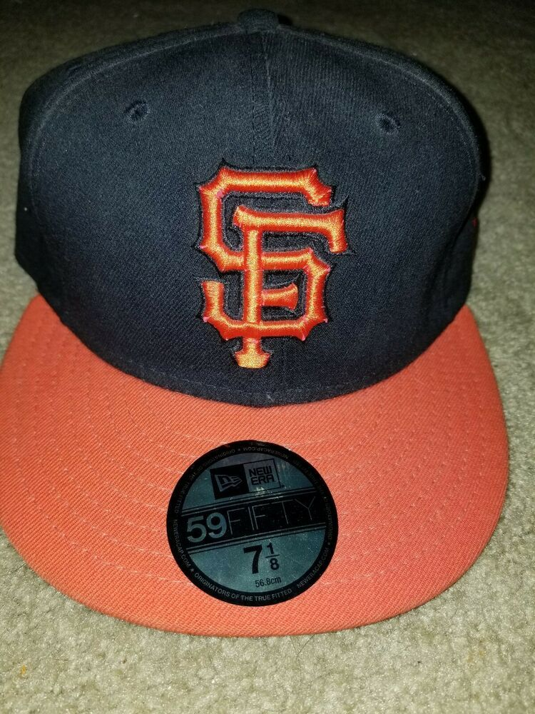 online store a18d1 1d464 New Era San Francisco SF Giants GAME 59Fifty Fitted Hat (Black) MLB Cap Sz  7 1 8  fashion  clothing  shoes  accessories  mensaccessories  hats (ebay  link)