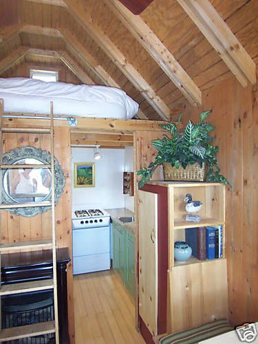 16 Tiny House Interior Design Ideas: Re: 16' X 12' Cabin In Western Maine