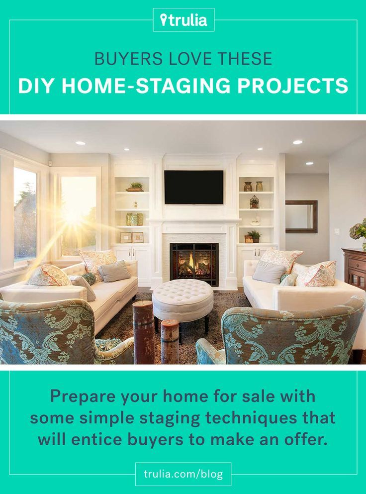 DIY Home-Staging Tips to Draw in Buyers - Real Estate 101 - Trulia ...