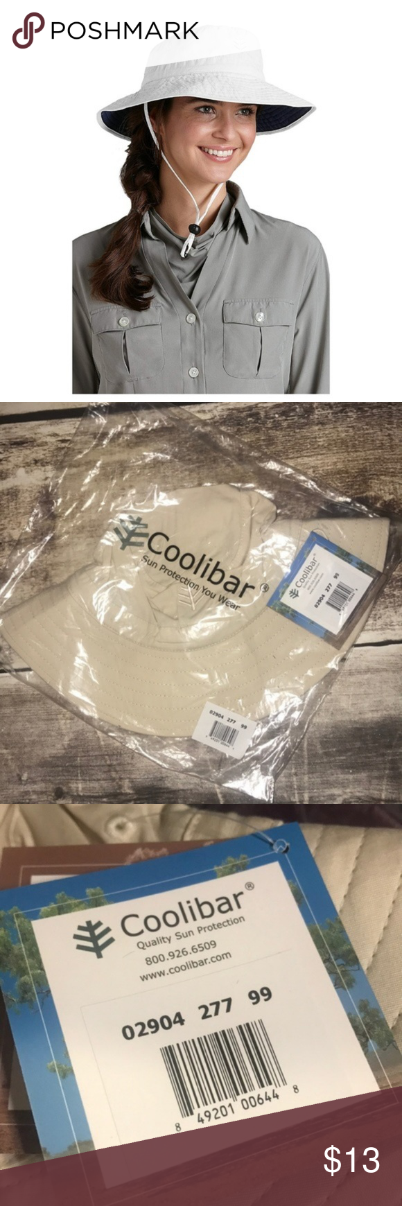 bdf66150728 Coolibar UPF 50 Plus Featherweight Bucket Hat Coolibar UPF 50 Plus  Featherweight Bucket Hat Brand new