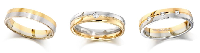 Trending His Or Her Wedding Bands Can Be Of Pink Colour As Well Gold