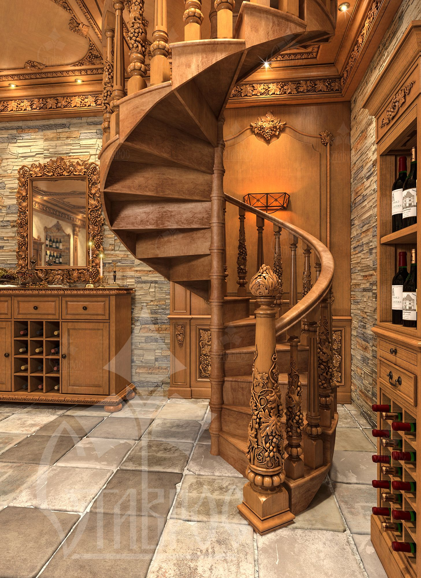 Best Stairs In The Wine Cellar Stairs Design Stair Design 400 x 300