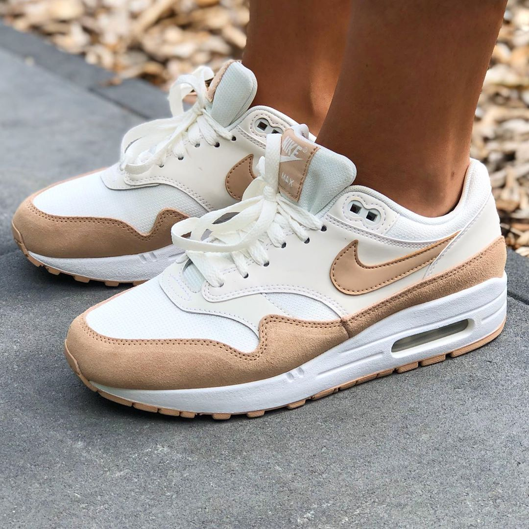 NIKE AIR MAX 1 *SUMMIT WHITE/BIO BEIGE | Chaussure