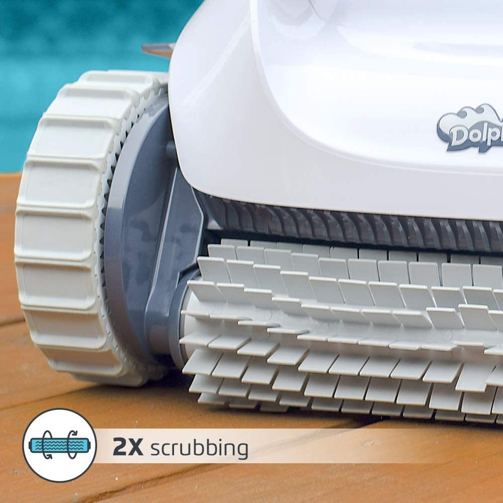 Dolphin E10 Automatic Robotic Pool Cleaner Review In 2020 Pool