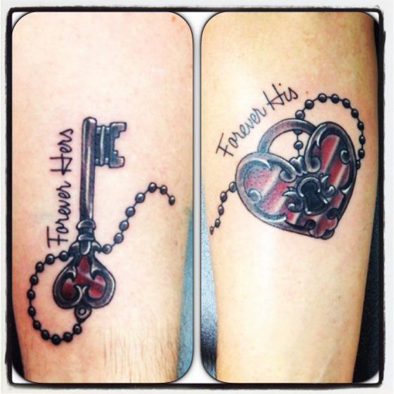 43e7419617a57 100+ Beautiful Couple Tattoos for Every Events - Page 5 of 6 - Disqora