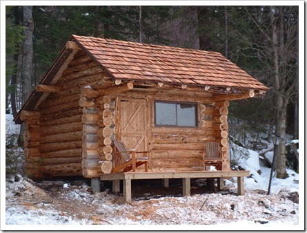 Relaxshacks.Com: Thirteen Tiny Dream Log Cabins- And A Floating