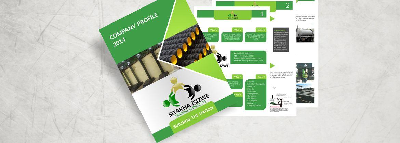 Company Profile Design  Company Profile Printing  Company