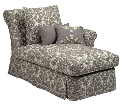 Four Seasons Layla Layla Upholstered Skirted Chaise Lounge