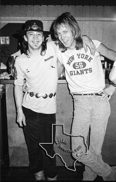 Stevie with Tony Dukes Houston Music Hall 1983