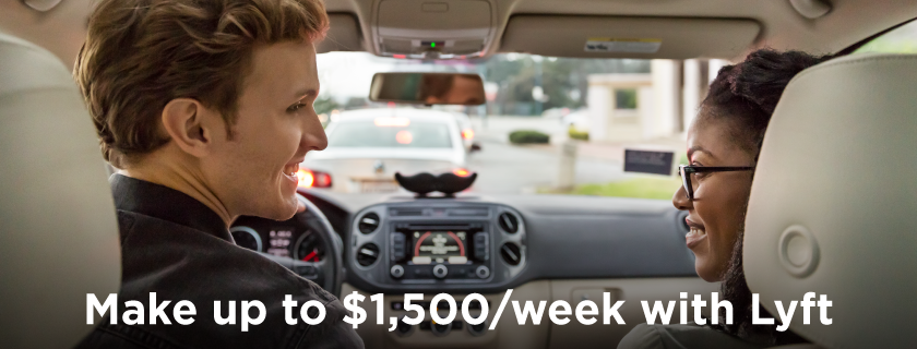 Part Time Drive With Lyft Flexible Earn Up To 35 Hr Tips
