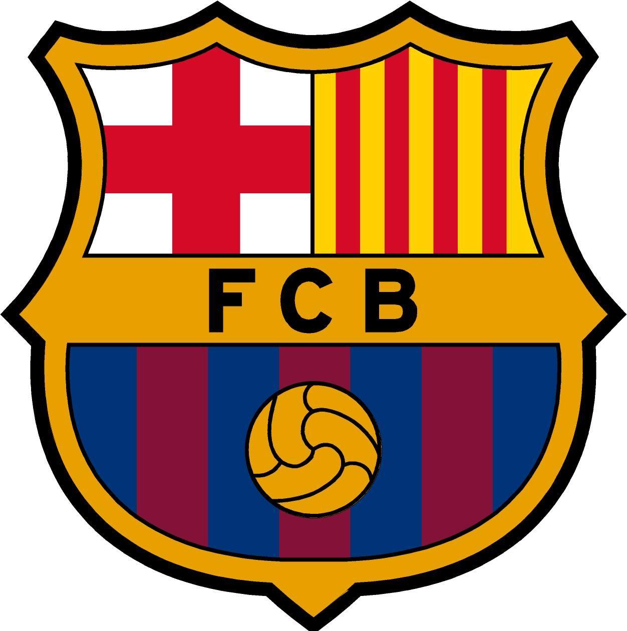 soccer escudo football futbol logo para pastel barca barcelona-españa.jpg (1252×1260)