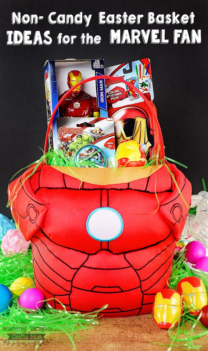 Non candy easter basket ideas for boys my avengers and super hero non candy easter basket ideas for boys my avengers and super hero fan would love negle Choice Image