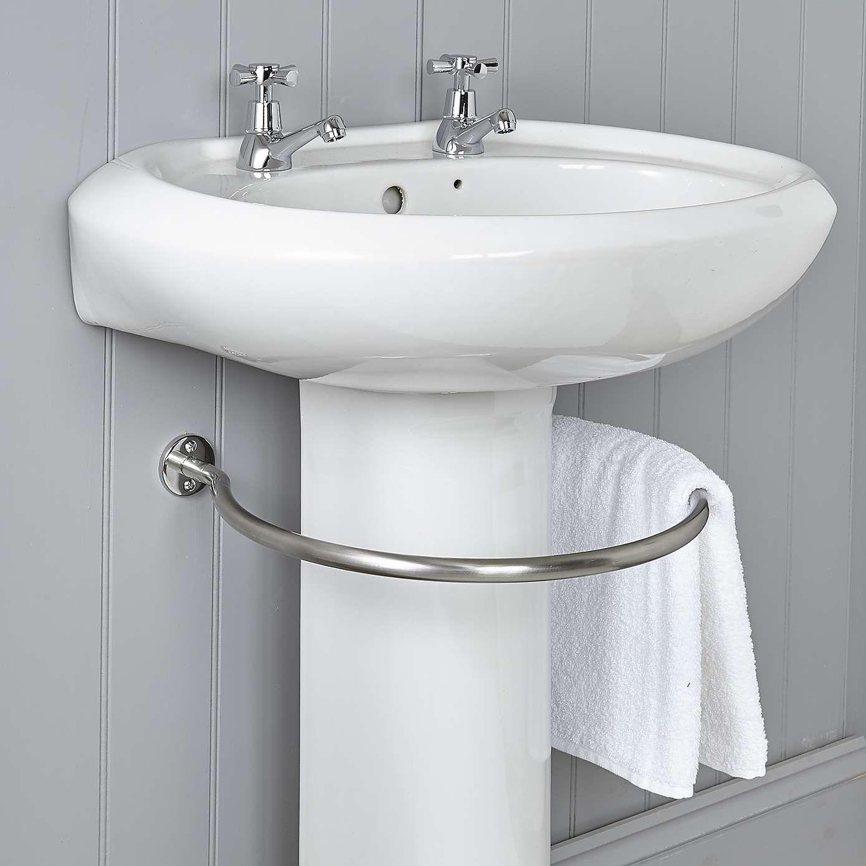 Circular Undersink Towel Rail Towel Rail Diy Towel Rails