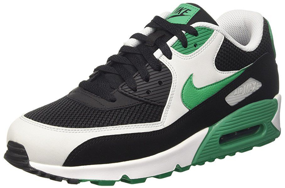 classic fit f7dff b777c Amazon.com   NIKE Mens Air Max 90 Essential Running Shoes Anthracite White Black  537384-089 Size 8   Running