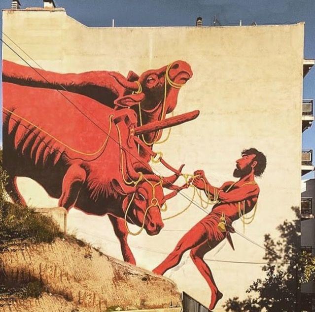 by Luca Zamoc in Buñol, Spain, 10/15 (LP) #streetart