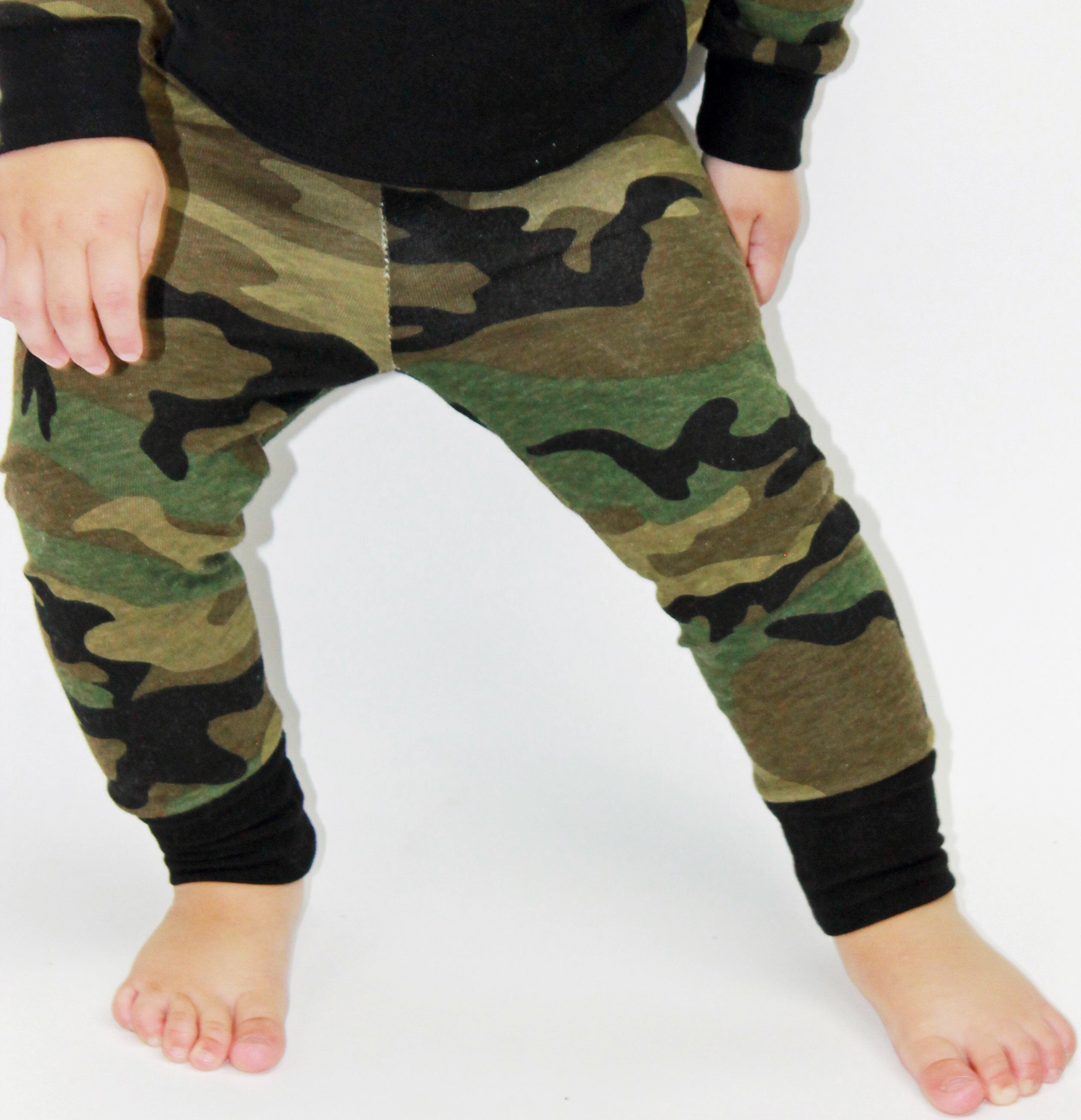 bfb4f85f9dc9d Excited to share this item from my #etsy shop: Camo Baby Pants - Slim Harem  Pants - Camo - Camo Toddler Leggings - Camouflage - Baby Boy or Girl