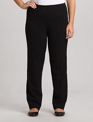 bf0c6c29bf4 Plus Size | Pants | Slimming Pants | Plus Size Secret Agent Pull-On Pants,  Tall Length