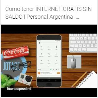 Como Tener Internet Gratis Sin Saldo Personal Argentina Internet Speed App Internet
