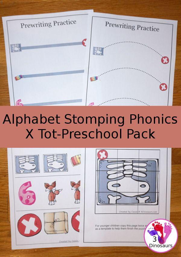 Libre Alfabeto Stomping Phonics X Tot-Preschool Pack - 20 páginas de ...