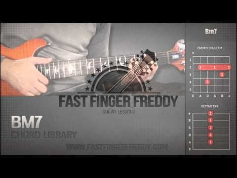 Guitar Chord Library : B Chords - Bm7 - YouTube | Guitar Chords - "|480|360|?|2e68d3b224bee2621af638ded2a4aba0|False|UNLIKELY|0.34347981214523315
