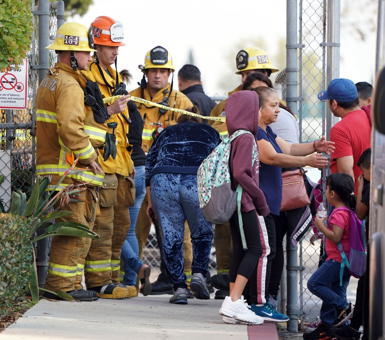 The LAFD was dispatched to a report of several children