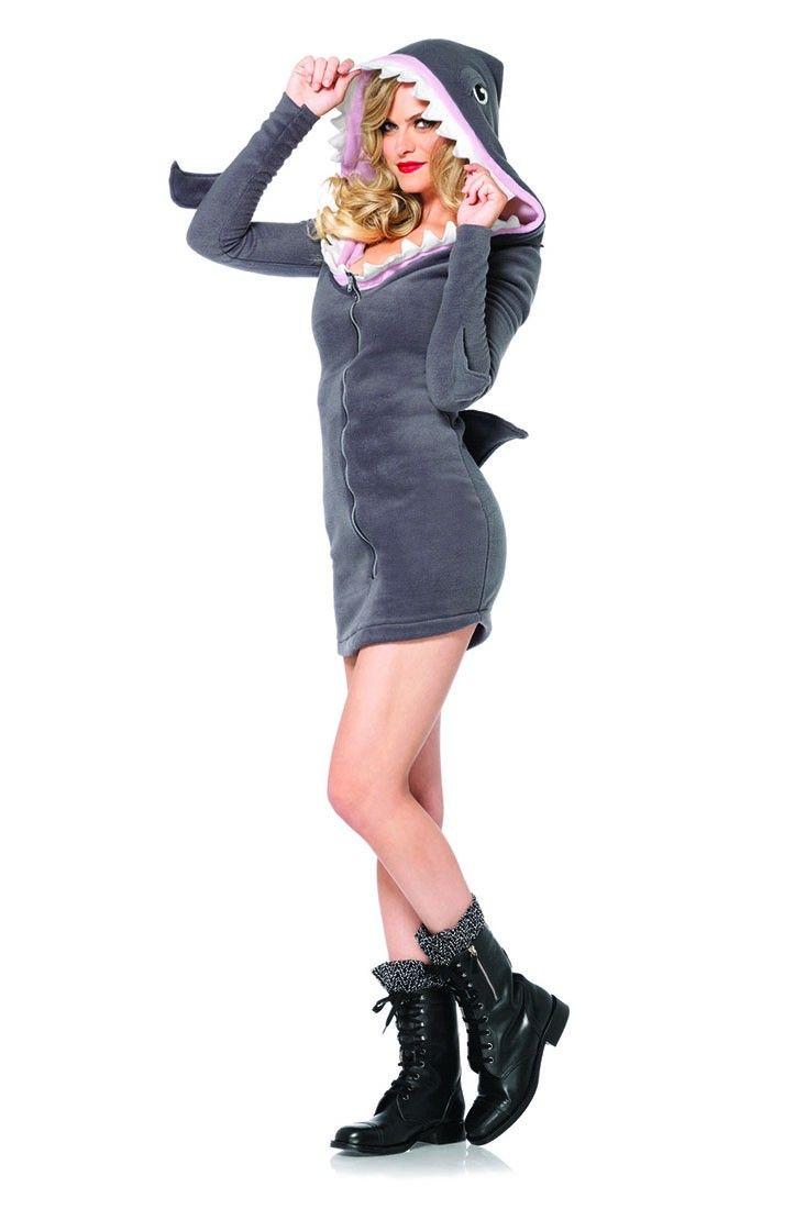 cozy shark costume halloween costume womenadult - Unique Halloween Costume Women
