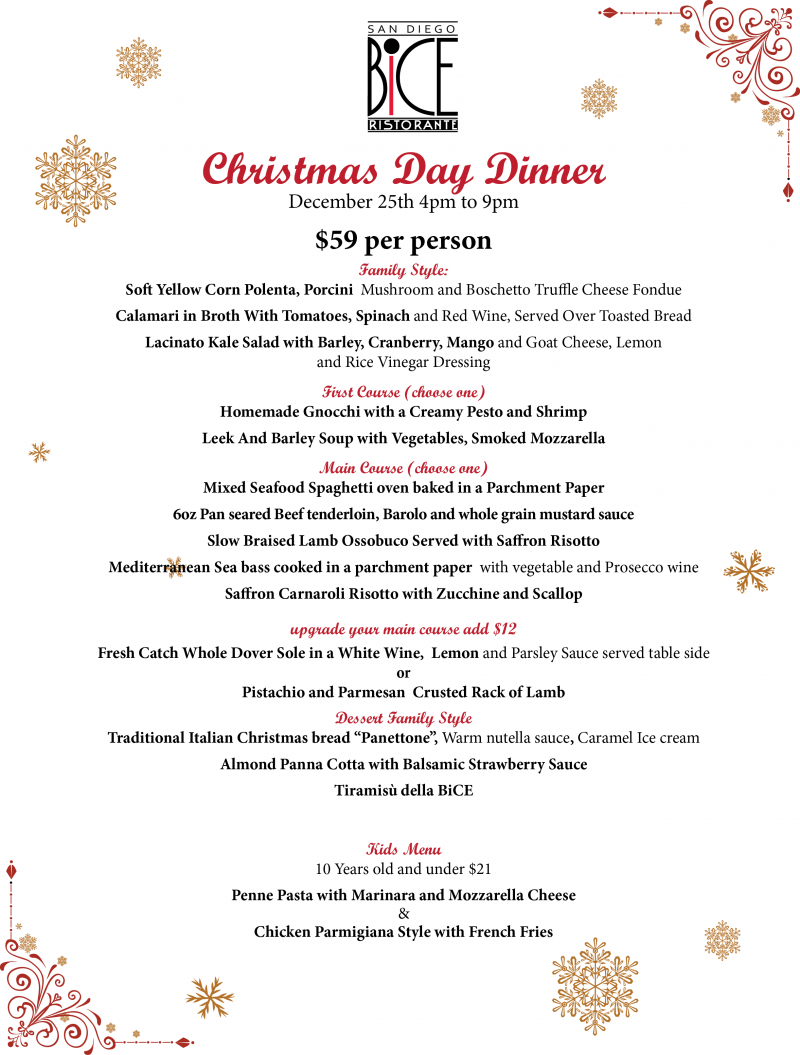 A festive Christmas meal without all the work! Treat your loved ones ...