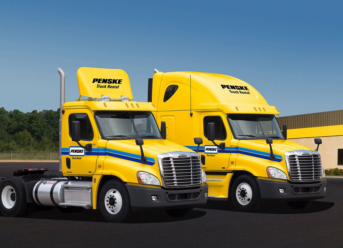 Penske Truck Rental Operates One Of The Largest Commercial Truck