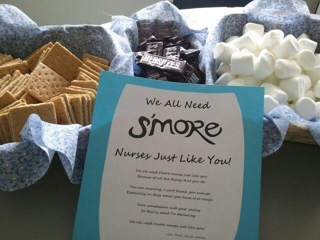 Pinterest Nurses Week Ideas Nurse Appreciation Week S Mores Nurse Appreciation Gifts Nurses Week Gifts Nurse Appreciation Week