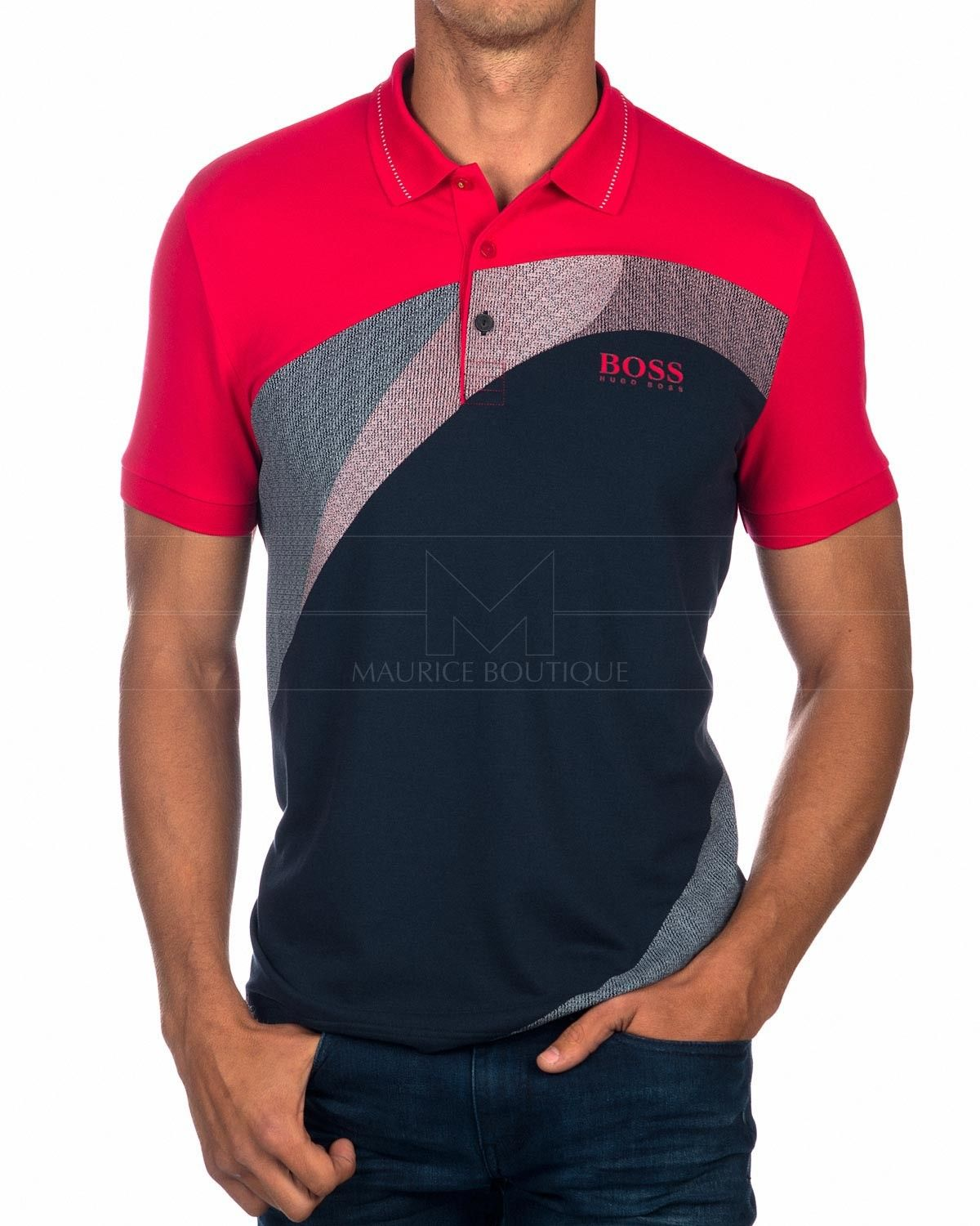 e377838a1 Hugo Boss Polo shirt White Paddy Martin Kaymer | mentips | Polo ...