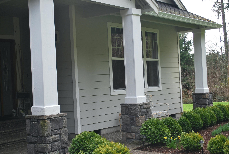 Building Porch Columns Porch Columns Porch Column Wraps Home Depot