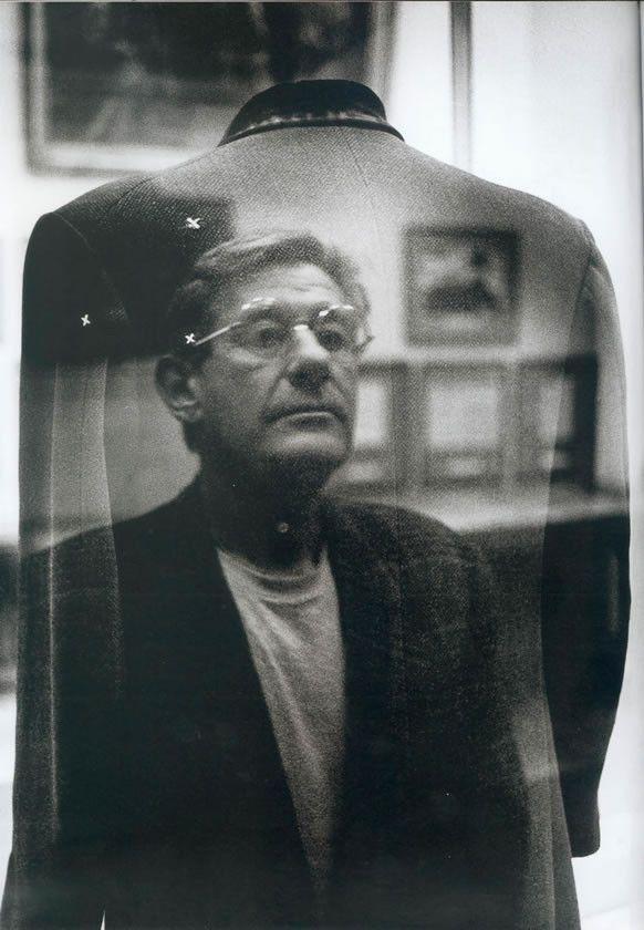 Helmut Newton. Self-portrail, 1989
