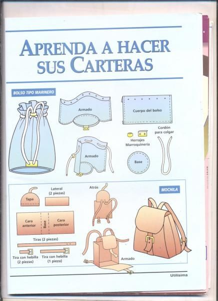 simple sewing patterns for bags #3 | Yesilds how to make bags ...