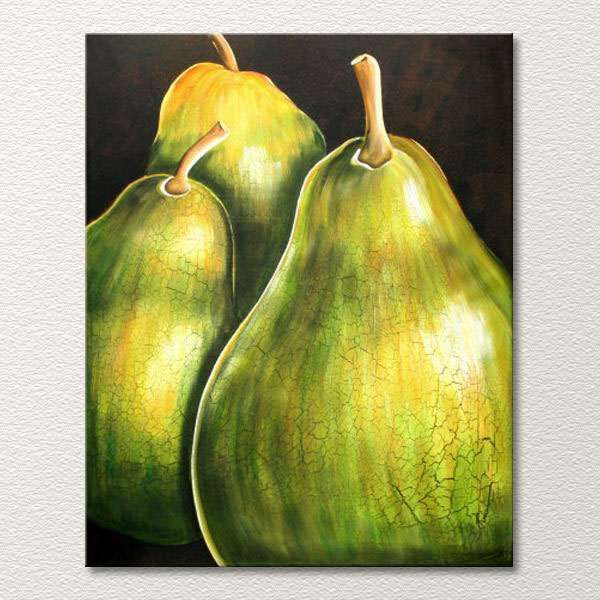 glass pear fruit in green and turquoise - Google Search | Green ...