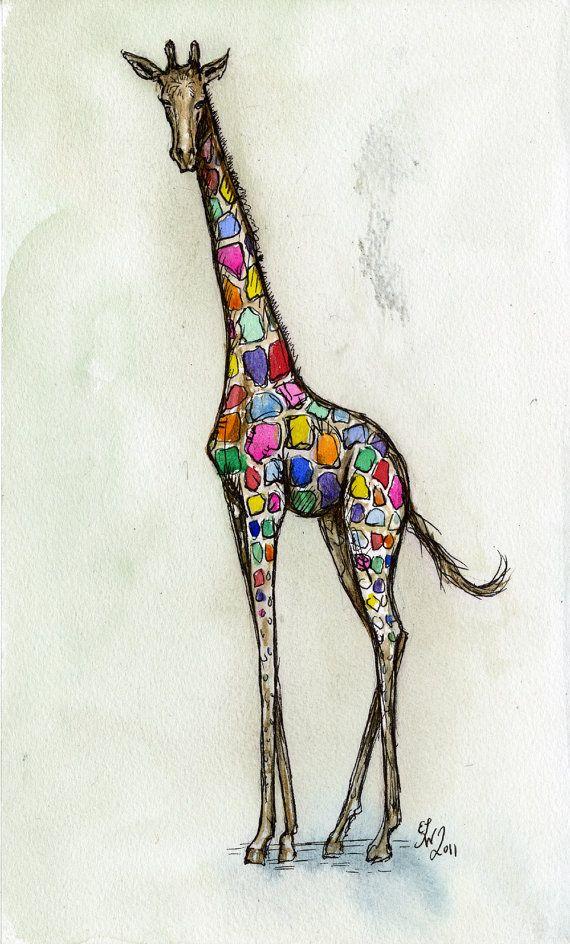 giraffe tattoo   *inked*   Pinterest   Giraffe tattoos, Tattoos ...