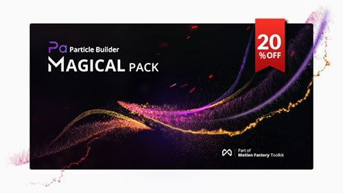 Particle Builder | Magical Pack: Magic Awards Abstract