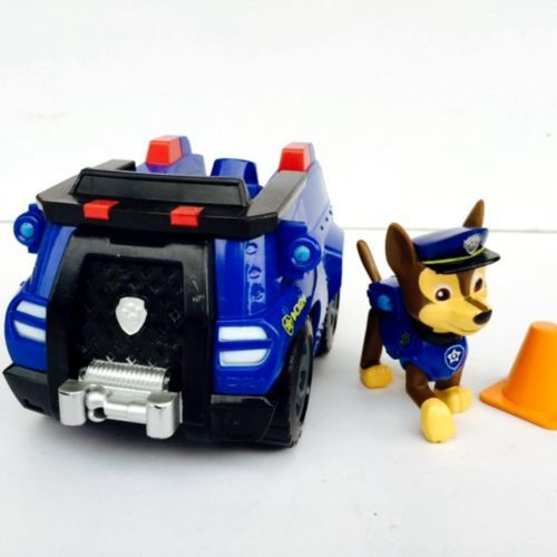 Paw Patrol Vehicle Chases Cruiser Chase Toy Poseable