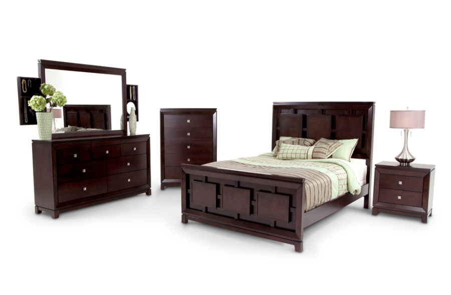 Espresso Master Bedroom Set With Hidden Storage Everywhere