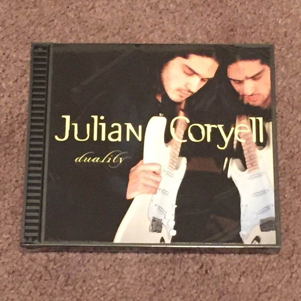 Julian Coryell Duality (CD, Music, Jazz, Guitar, N2k Records, 1997) NEW #Guitar