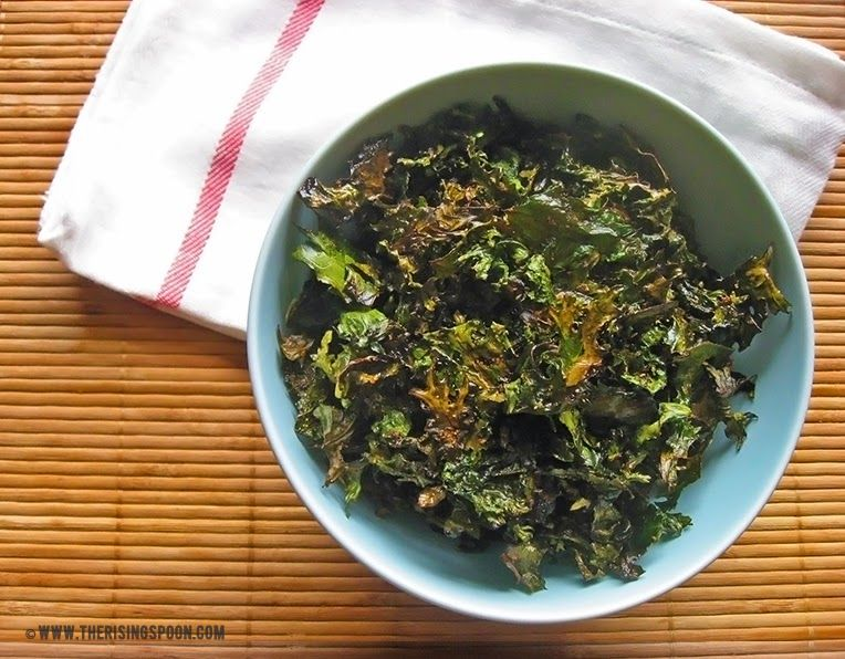 How to Make Kale Chips + My Seasonal Addiction to Potato Chips