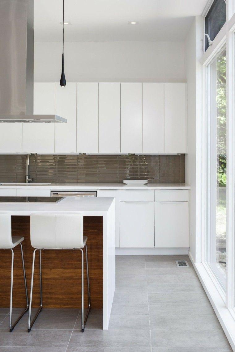 Panel de cocina: 50 ideas para la pared de la cocina | Colores ...