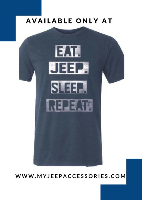 Look good in Jeep apparel.