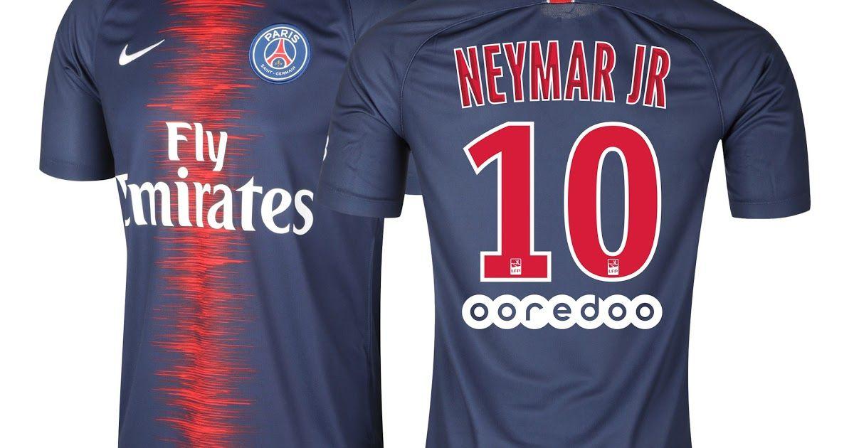 maillot junior neymar psg domicile