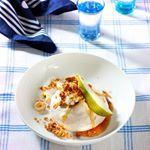 Konijn met mosterd en champignons