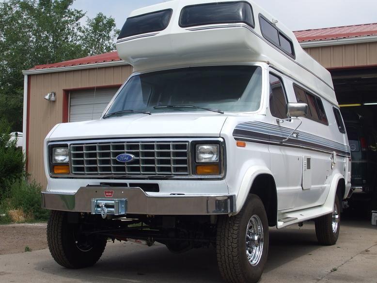 4x4 Ford Camper Class B With Images 4x4 Camper Van 4x4 Van