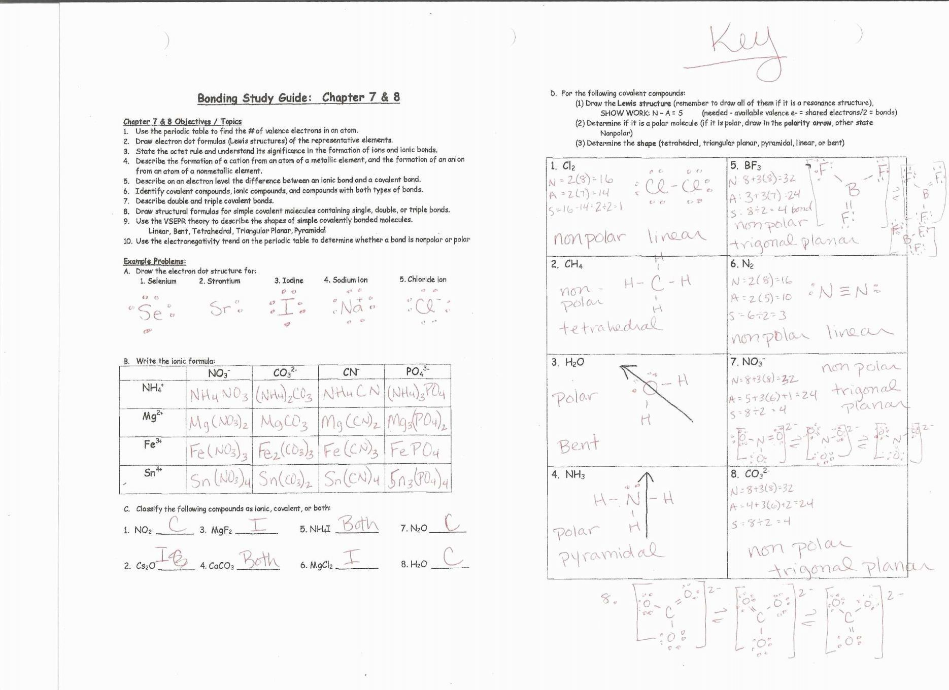 8 2 Types Of Chemical Reactions Worksheet Answers Dengan