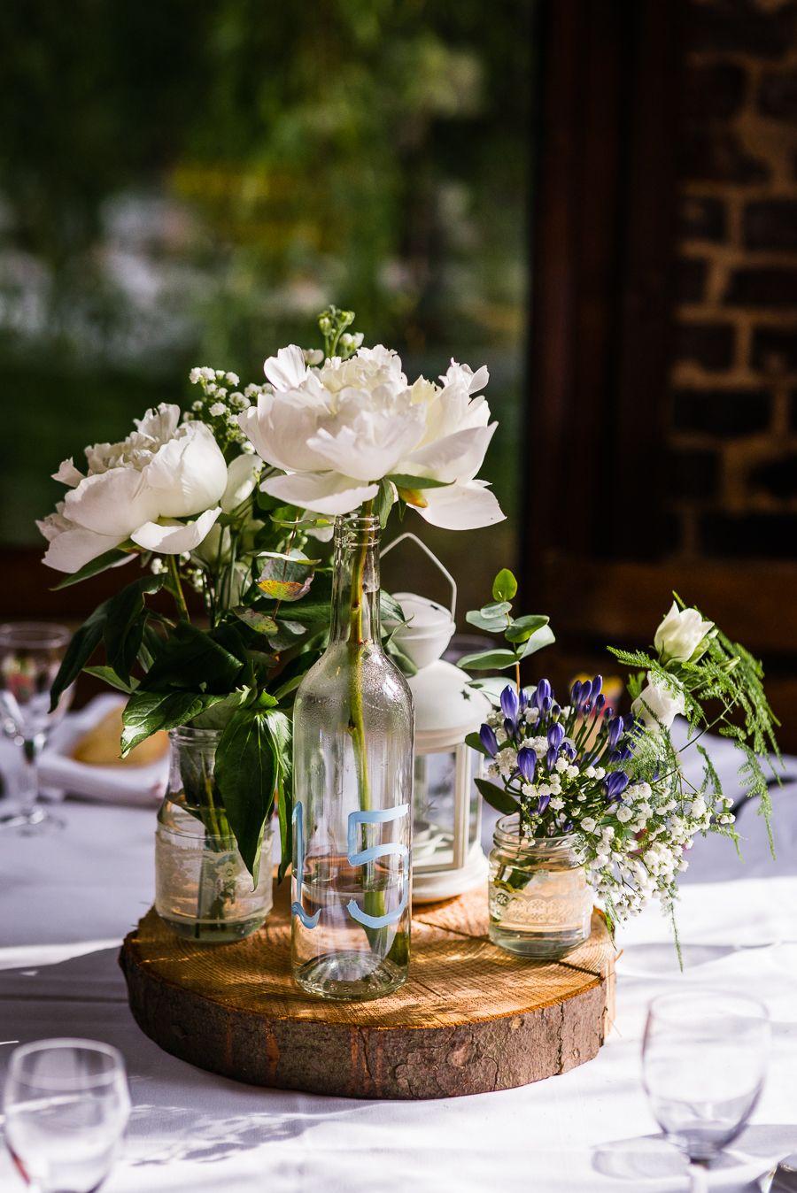 Deco Centre De Table centre de table fleuri …   deco mariage, centre de table