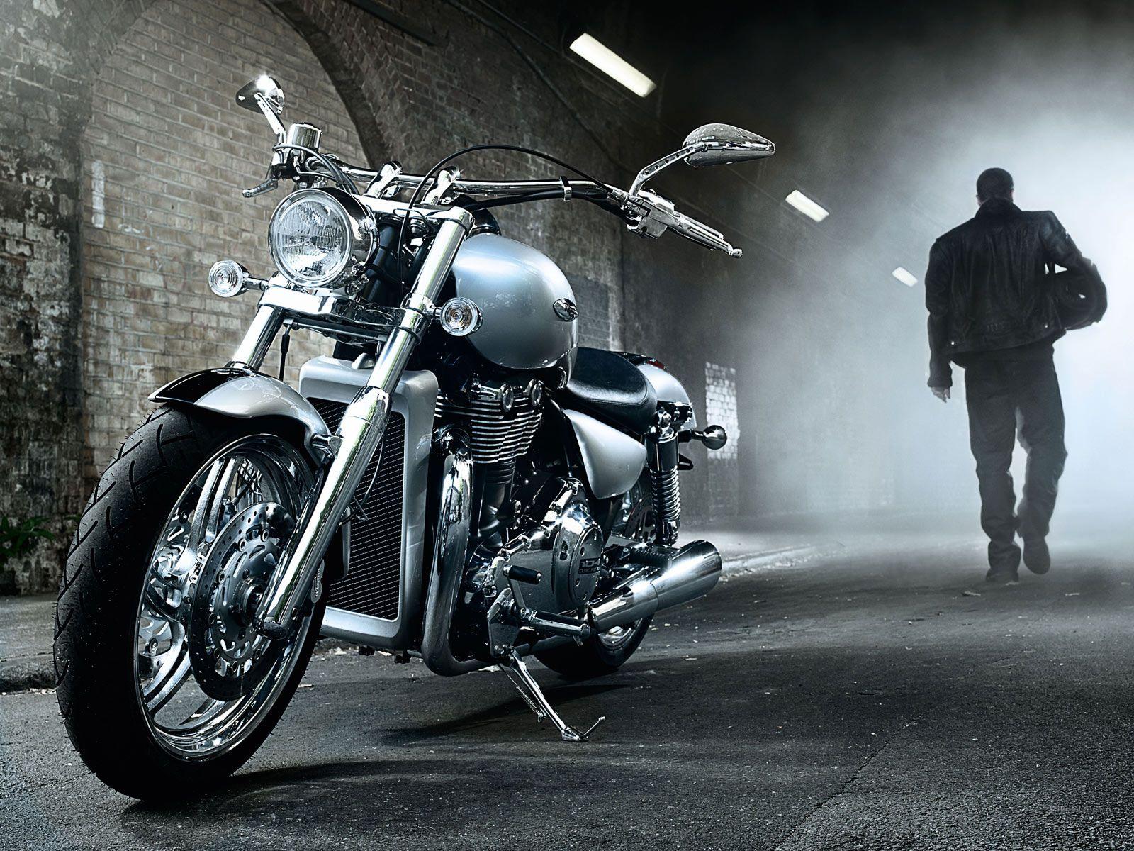 Обои Thunderbird, Triumph, bike. Мотоциклы foto 7