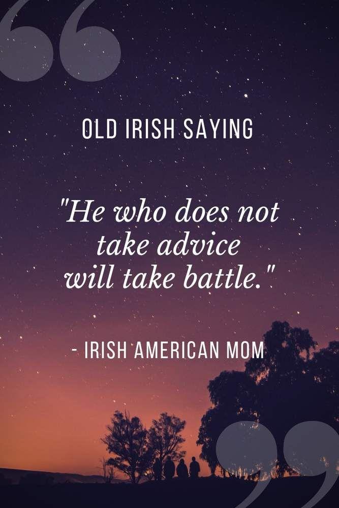 Irish Proverbs About Proverbs