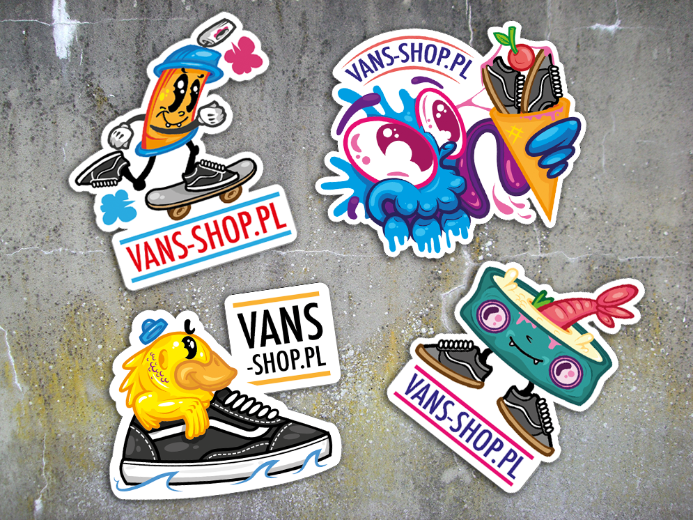 c7509732bee Stickers design for Vans Shop | Art Graphic Designs and supplies in ...